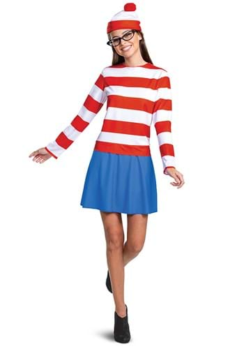 Wheres Waldo Adult Classic Wenda Costume