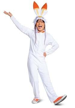 Pokemon Scorbunny Hooded Jumpsuit Classic Costume Alt 2