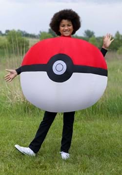 Inflatable Poke Ball Child Costume