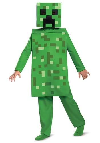 Minecraft Creeper Jumpsuit Costume