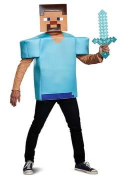 Minecraft Steve Adult Costume DLC