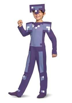 Minecraft Enchanted Diamond Armor Classic Child Costume DLC