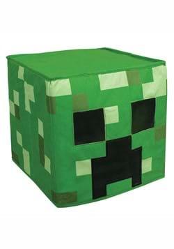 Minecraft Creeper Block Head Mask for Adults main1
