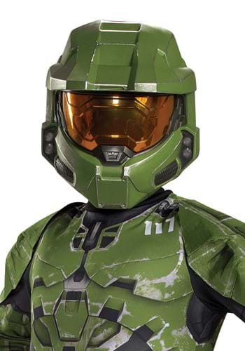 Halo Infinite Master Chief Full-Face Mask for Kids