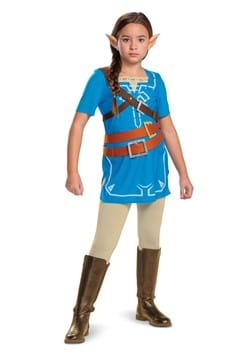 Link Breath of the Wild Classic Kids Costume Alt 1 upd