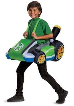 Kids Inflatable Yoshi Cart Costume