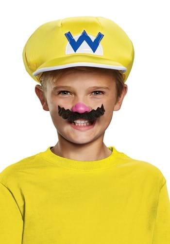 Kids Wario Hat and Mustache