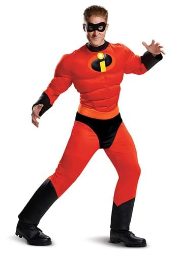 Adult Mr Incredible Classic Costume