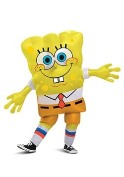 Kids Inflatable Spongebob Squarepants Costume