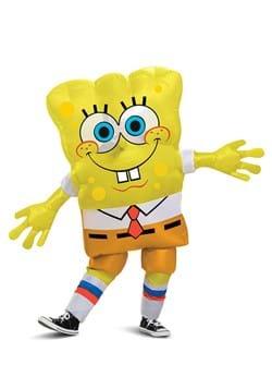 Kids Inflatable Spongebob Squarepants Costume