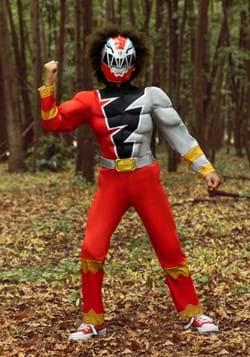 Kids Power Rangers Dino Fury Red Ranger Costume