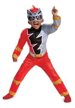 Toddler Power Rangers Dino Fury Red Ranger Costume