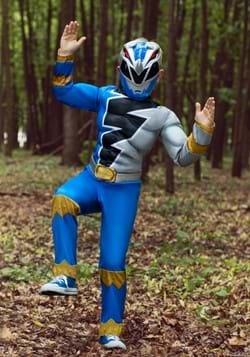 Kids Power Rangers Dino Fury Blue Ranger Costume