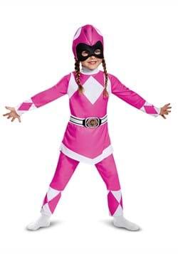 Infant/Toddler Power Rangers Pink Ranger Muscle Costume