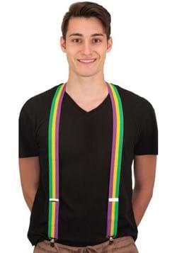 Adult Mardi Gras Suspenders