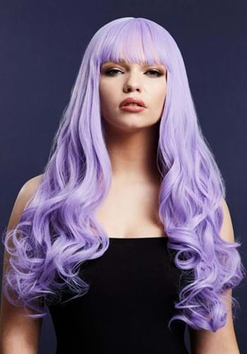 Violet Fever Gigi Heat Styleable Womens Wig