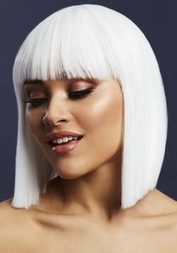 Fever White Lola Heat Stylable Wig