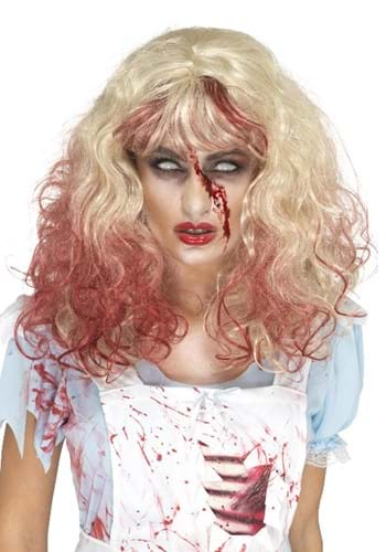 Blonde Bloodstained Wig