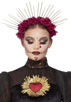 Sunburst Day of the Dead Rose Crown