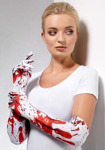 Blood Splatter Gloves
