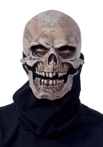 Adult Moving Mouth Skull Mask