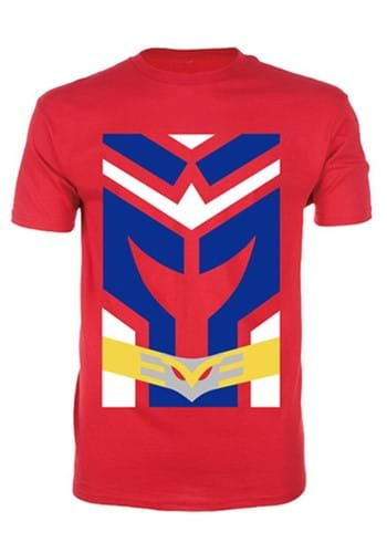 My Hero Academia All Might Costume T Shirt for Men