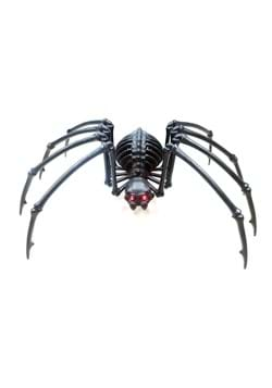 "40"" Black Skeleton Spider w/Light up Eyes and Timer"