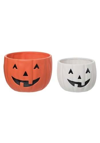Jack-O-Lantern Candy Bowls