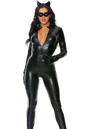 Womens Plus Fierce Feline Costume