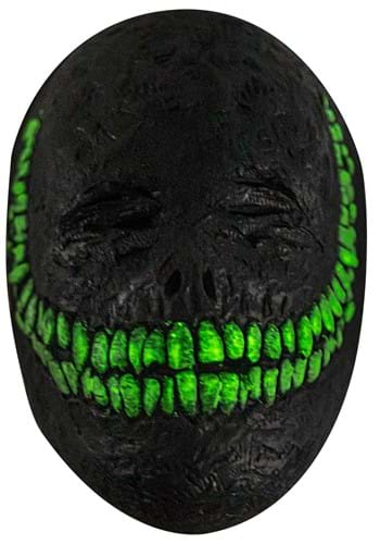 Creepy Grinning Glow in the Dark Mask