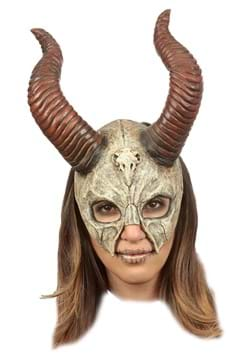 Mythical Horned Skull Mask