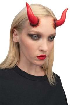 Red Devil Horns Applique