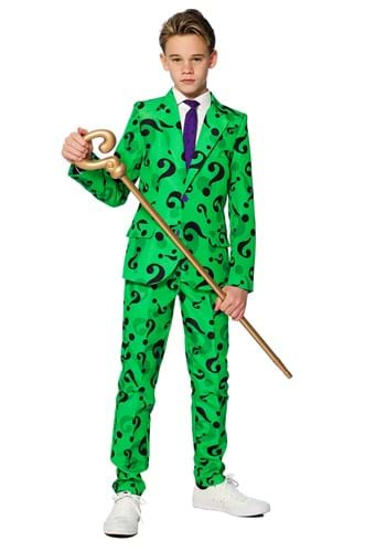 Suitmeister Boys The Riddler Suit