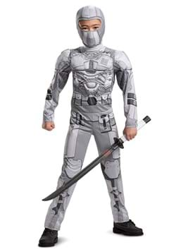 Snake Eyes Movie Storm Shadow Child Classic Muscle Costume