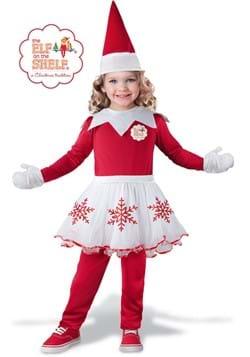 Girls Elf on Shelf Toddler Costume