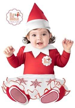 Girls Elf on the Shelf Infant Costume