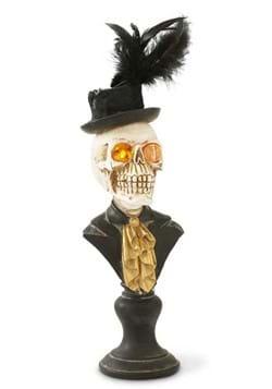 """18"""" Skeleton Bust w/LED Eyes on Pedestal"""