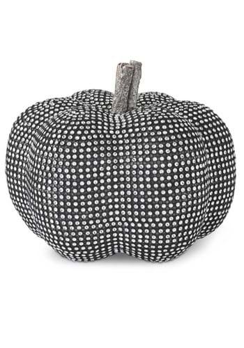 75 Black Pumpkin with Rhinestones