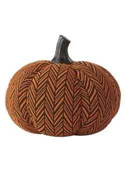 6 Orange Black Herringbone Pumpkin