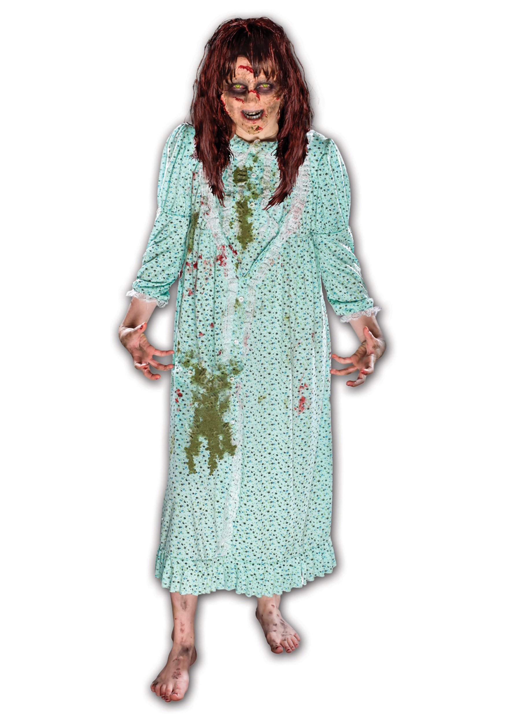 sc 1 st  Halloween Costumes & The Exorcist Regan Costume w/ Wig