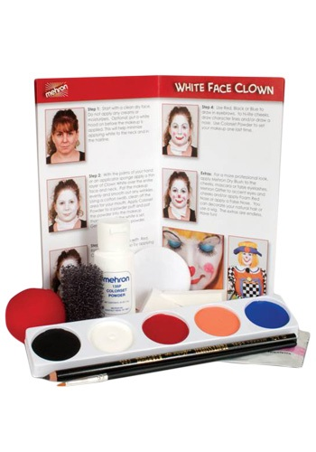 Mehron Clown Costume Makeup Kit