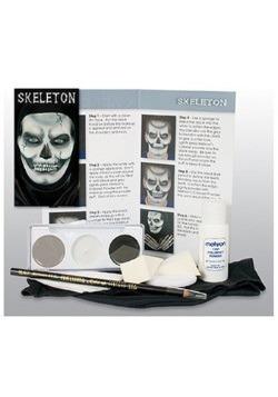 Skeleton Makeup Character Kit