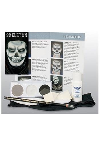 Mehron Skeleton Makeup Character Kit