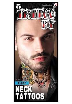 Tiger Neck Tattoo