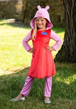 Peppa Pig Girls Long Sleeve Costume