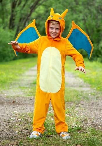 Pokemon Child Charizard Deluxe Costume-2