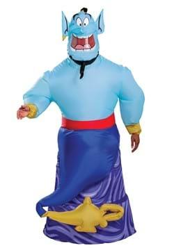Aladdin Animated Adult Genie Inflatable Costume