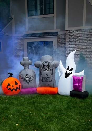 5pc Graveyard Inflatable Set-1