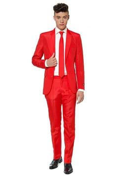 Suitmeister Solid Red Suit for Men