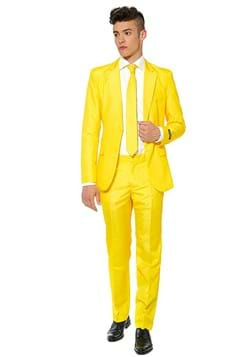 Suitmeister Mens Solid Yellow Suit